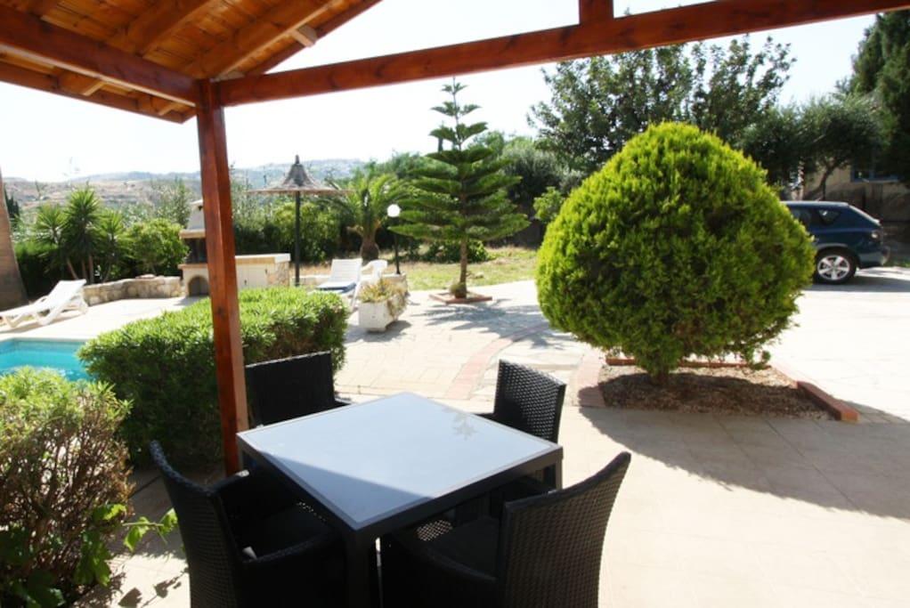 Veranda seating