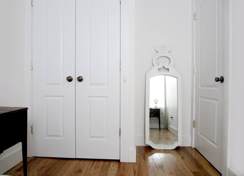 closet & mirror