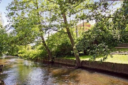 Cosy house with stream in garden - Vejle County - House