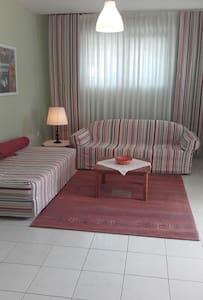 Garden apartment near airport and port. - Leilighet