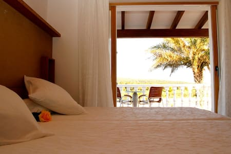 Double Room with Terrace @ Es Pas - Bed & Breakfast