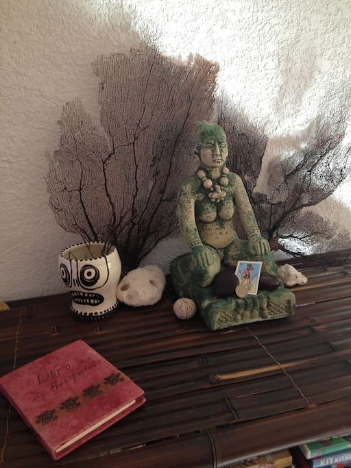 The goddess Ixchel invites you to enjoy the tranquility of Casa Maare.