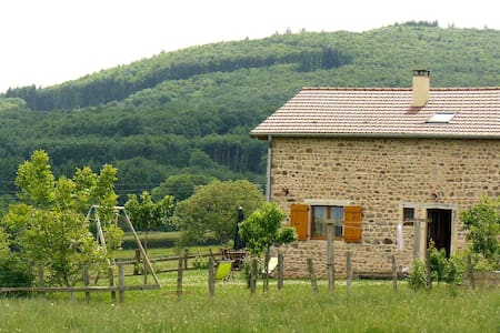 """Natural"" farm in South Burgundy! - Buffières - Huis"