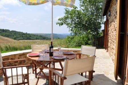 Cosy gite with stunning views