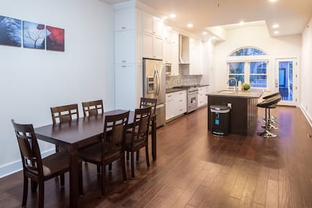 Quiet Sunny Private BR, 5min to Manhattan - Jersey City - Townhouse