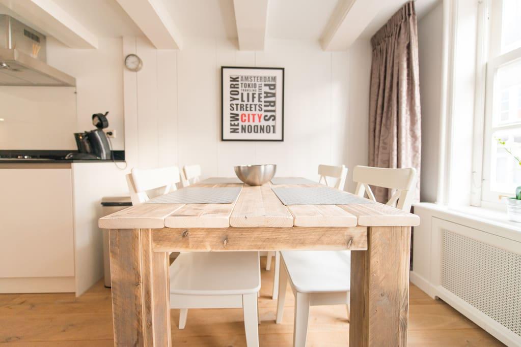 49-2 cosy 1 bedr Jordaan apartment