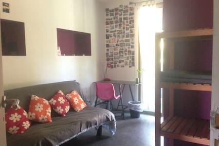 Chambre avec canapé lit 2 personnes - Cagnes sur Mer - Appartamento