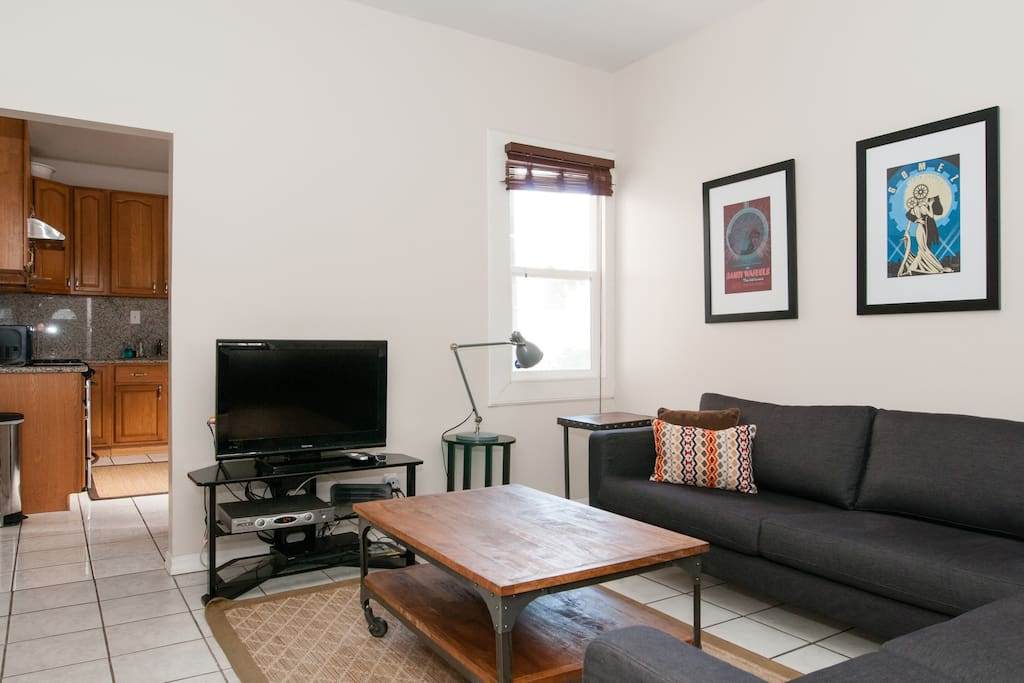 Cute Private Apt in the hip Mission