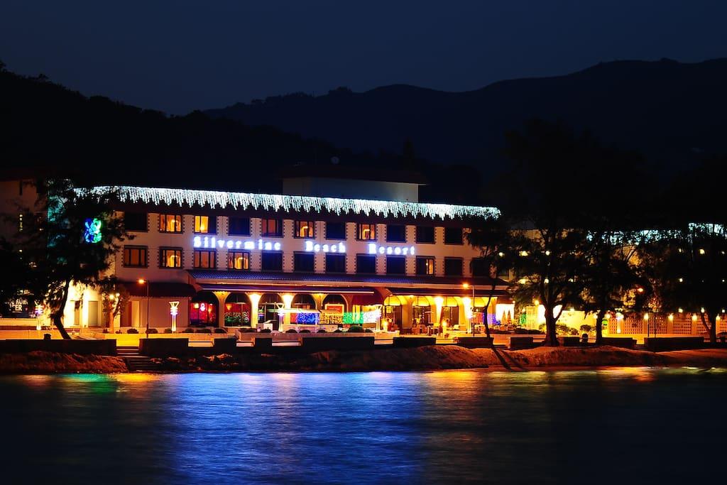 Beachfront resort on Lantau