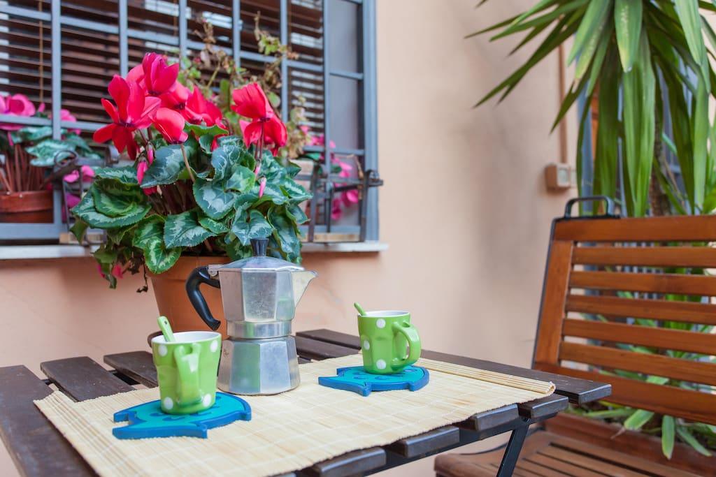 gardencorner for breakfast