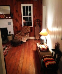 Cozy & stylish Phoenicia cabin-WIFI - Casa