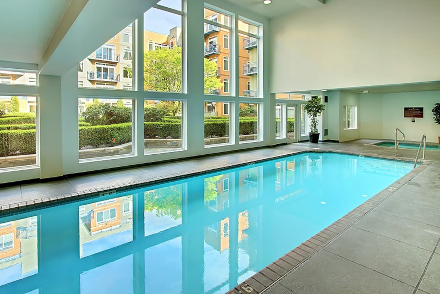 Pool, Hot Tub, And Dry Sauna are hardly ever used by residents of the building!