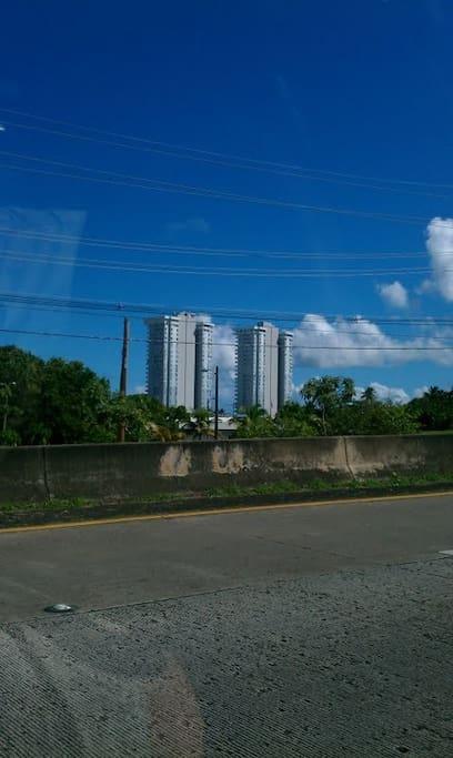Condominum Sandy Hills in Luquillo, Puerto Rico