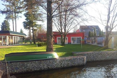Ferienhaus direrekt am See mit Boot - Schwerin - Talo