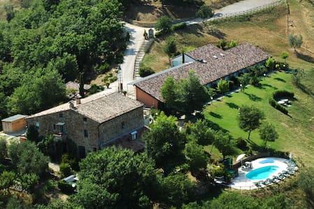 Junipers,oldstone villa out Orvieto