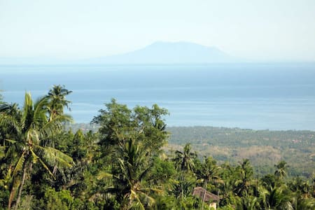 Awesome view from Villa Cempaka - Sukasada