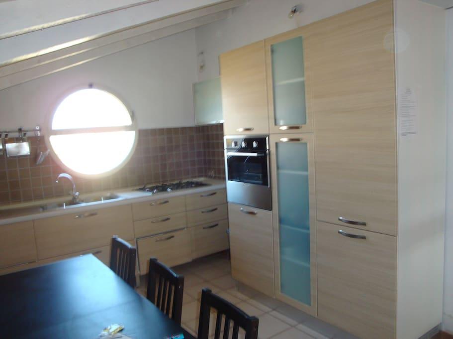 one  kitchen