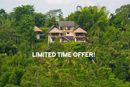 Private Jungle Estate / Stunning Service and Views - Ubud - Villa