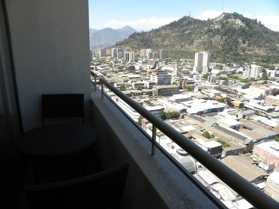 Santiago Mountain View by park