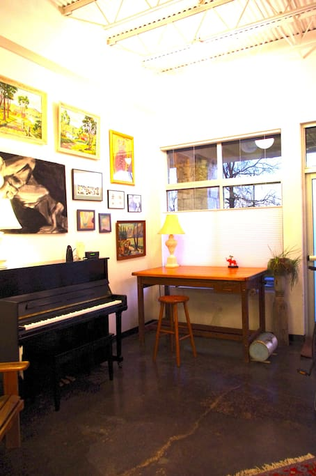 Piano and drafting table