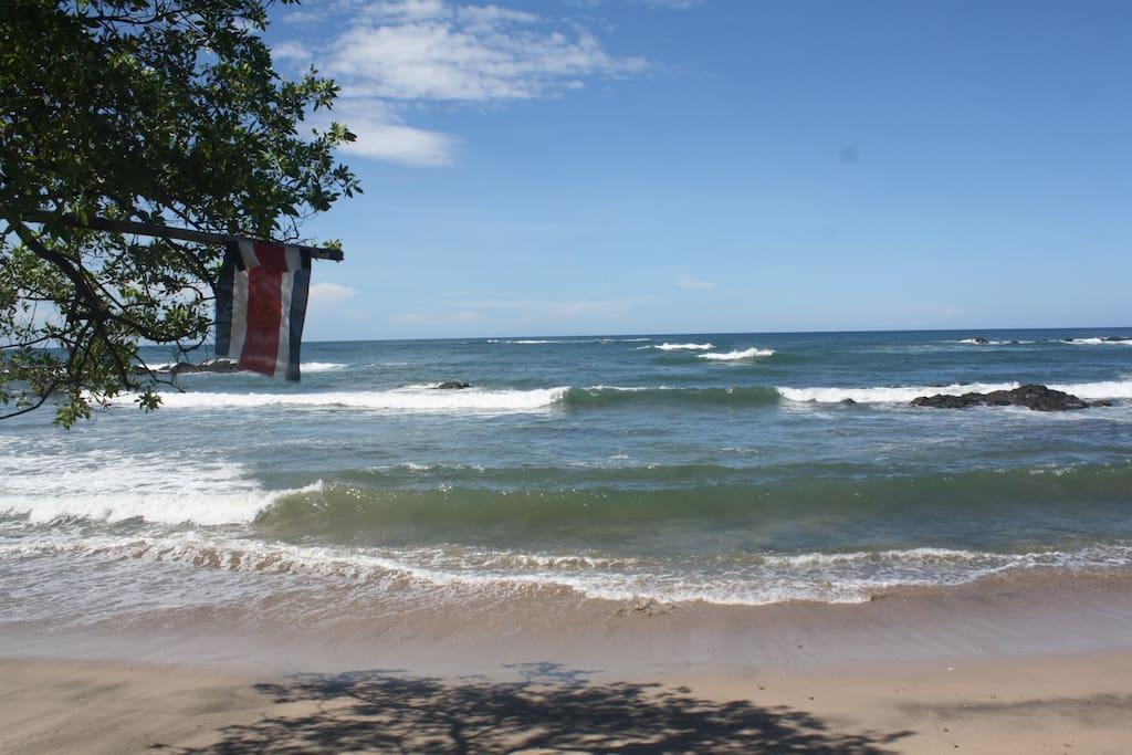 Vista Bela's front ocean view