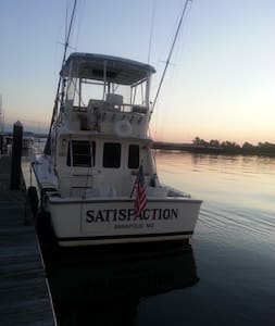 Fishing Yacht at St Johns Yacht Harbor Marina, SC - Barca