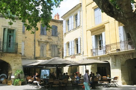 Bright & charming, in the heart of Uzès - Apartment