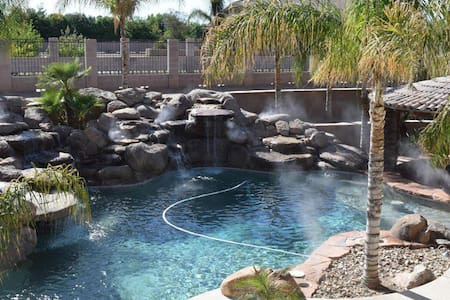 Ranch style home, resort like pool - Queen Creek
