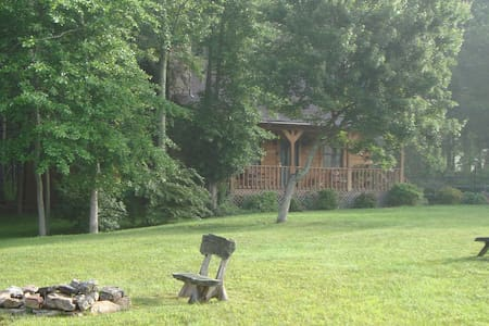 The Whitetail. A cozy log cabin - Pipestem - House