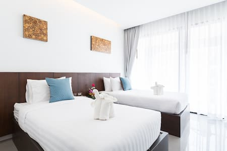 Modern Deluxe City View Twins Room - Wohnung