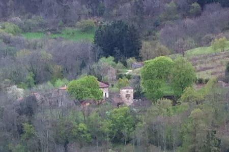 Ardèche verte : chambre d'hôte en pleine nature - Preaux - Gästehaus