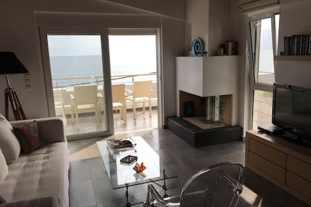 Apartement with Aegean sea view - Agia Anna