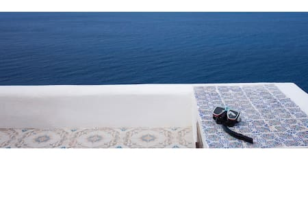 Dammuso sulla scogliera - Your house on the sea - Hus