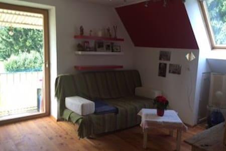 Gemütliches Zimmer in ruhiger, grüner Lage - House