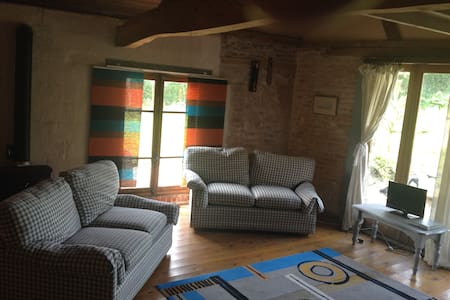 Small Barn / village Saulchoy in l'authie valley - Saulchoy - Apartment
