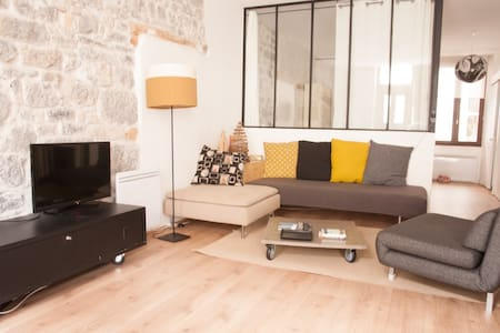 50m2 of charm in city center - Appartement