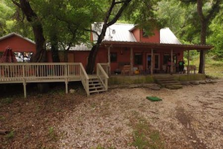 Casa Rojo on the Frio River - Ház