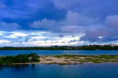 *Casa *vista panorâmica* Praia Barra Nova - Casa