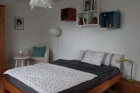 Originelles 1.5 Zimmer-Studio mit Gartensitzplatz - Apartment