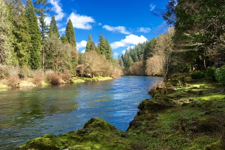 Whispering Pines on the McKenzie River - Vida - Hus