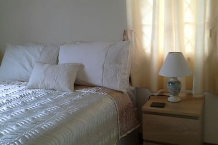 Double bedroom with en suite. - trelawny jamaica