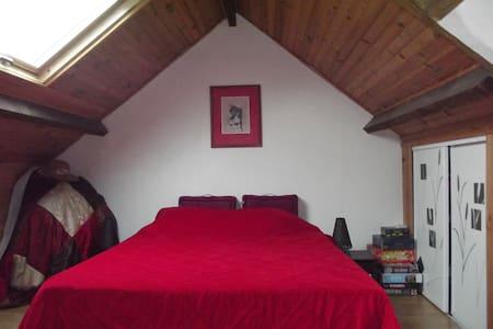 chambre sous les toits,proche Centre-ville - Hus
