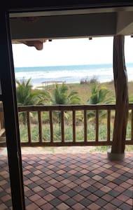 Epic beachfront good surf all year - Casa