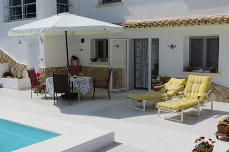 Moraira spacious apartment with private pool - Apartemen