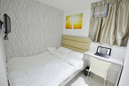 Facilities include air-con, fridge, microwave, TV, kettle, hairdryer, hot bath *no extra charges *free Wi-Fi *House Keeping everyday/ everyweek *Austin Station walk by 1-2mins *Kowloon Station walk by 10-12mins *Jordan Station walk by 10-12mins