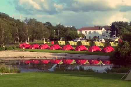 1 Man Tent EdinburghFestivalCamping - Telt