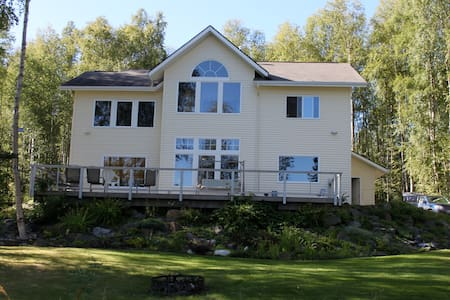 Alaska LAKEFRONT BNB *4 Rooms/Sleep 1-8 - Wasilla - Bed & Breakfast