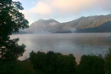 1 1/2 Room in Lakehouse with lake view and beach - Schliersee - House