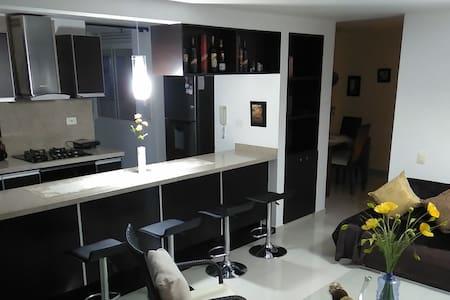 Apartamento vista Ruitoque,impecable,ubicación 1A - Floridablanca - Apartmen