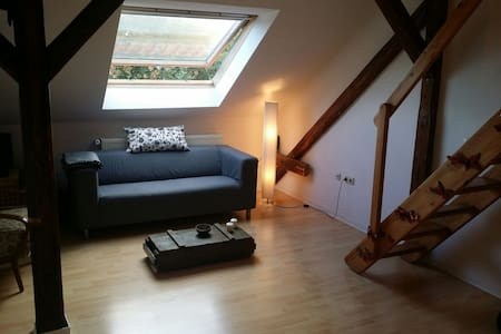 Zentrale Wohnung mit Charme - Erfurt - Appartement
